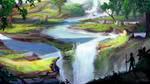 Eden Falls by JKRoots