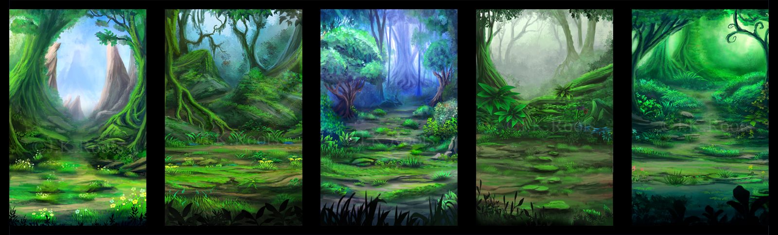 Outer forest designs by jkroots on deviantart for Outer painting design
