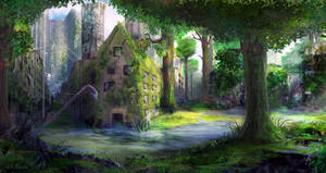 Overgrown City by JKRoots