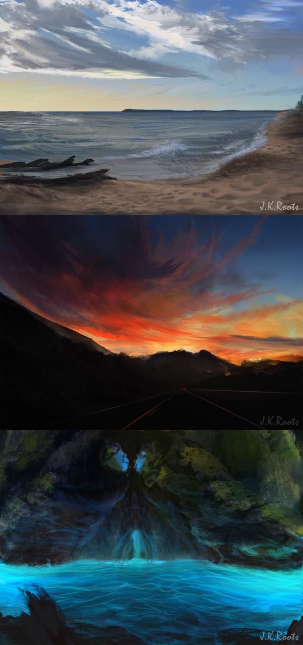 Landscape Commissions by JKRoots
