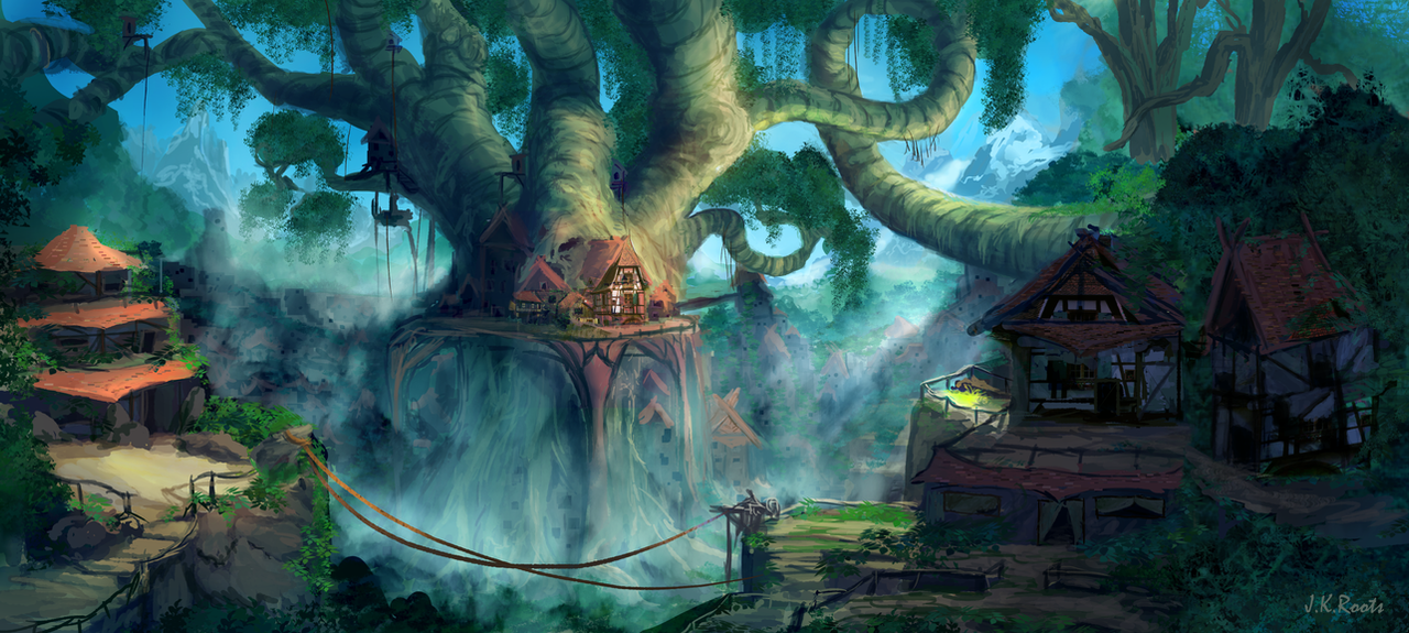 Lost Civilization by JKRoots