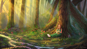 Xiaolei's Glade by JKRoots