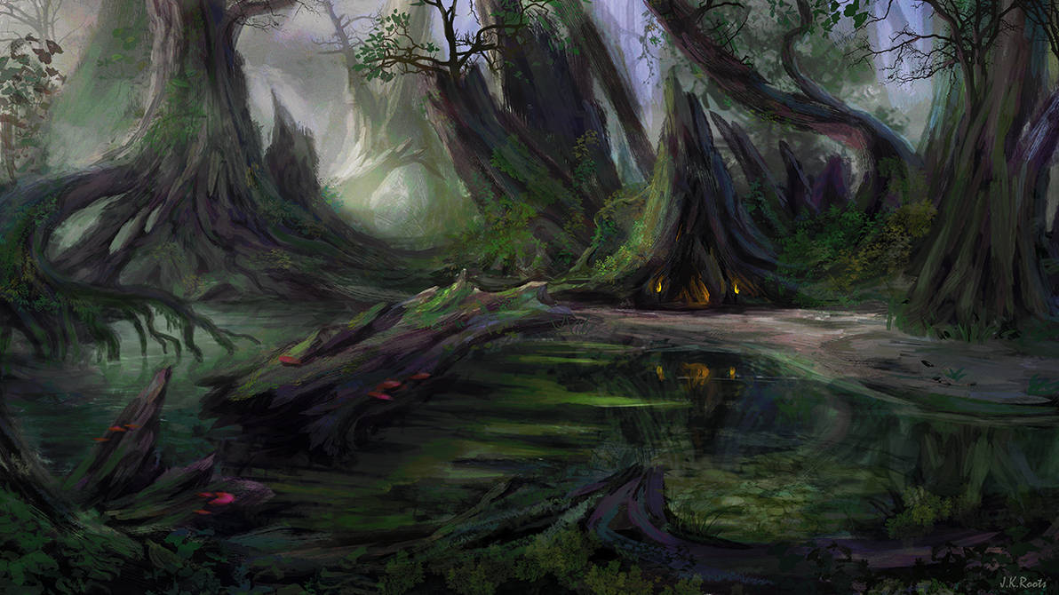 Seer of the Swamp by JKRoots
