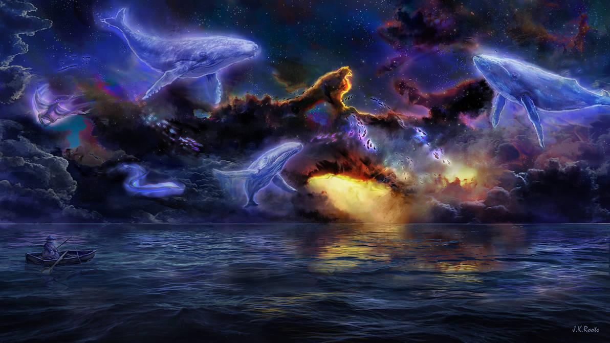 Astral Ocean by JKRoots