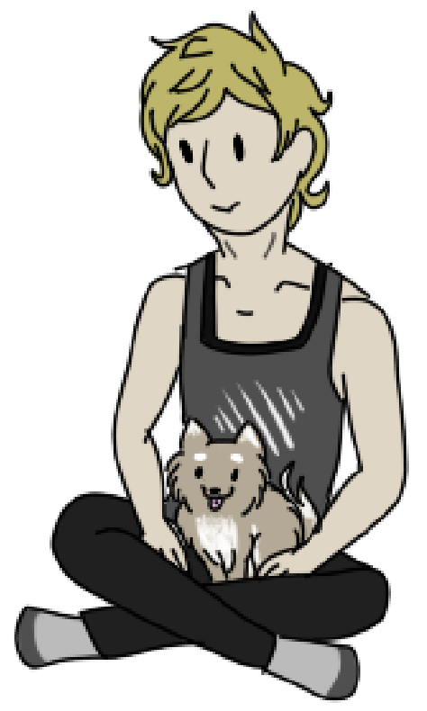 the pupper is named Ilmar by corvid-corrosion