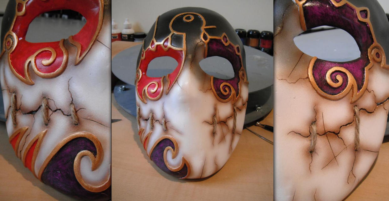 Jack of Blades mask -COMPLETE- by Tommster