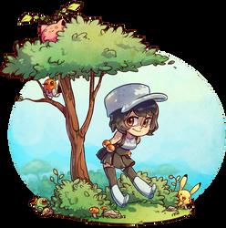 A Pokemon Trainer by snowkatt101