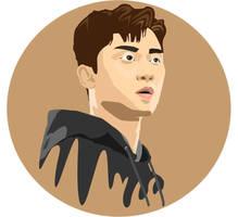 Park Seo Joon Illustrated Portrait