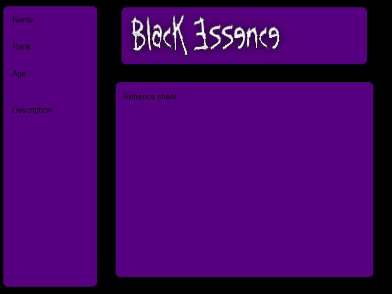 Black Essence by Rayilex