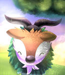 Skiddo by Arcegea