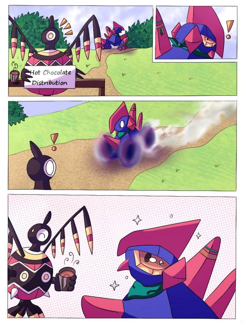 Mini comic : Hot Chocolate !