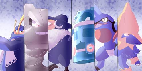 Pokemon Teams - Diamond Version