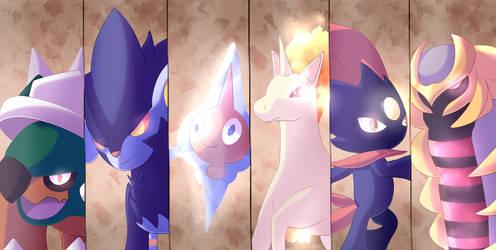 Pokemon Teams - Platinium Version