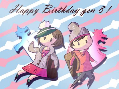Happy 1st Birthday Sword and Shield !