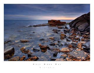 Half Moon Bay by pantasticalpants