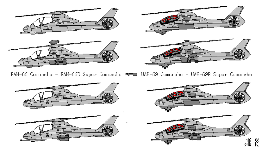 UAH-69 Comanche by HammerHeadScott on DeviantArt Xm301