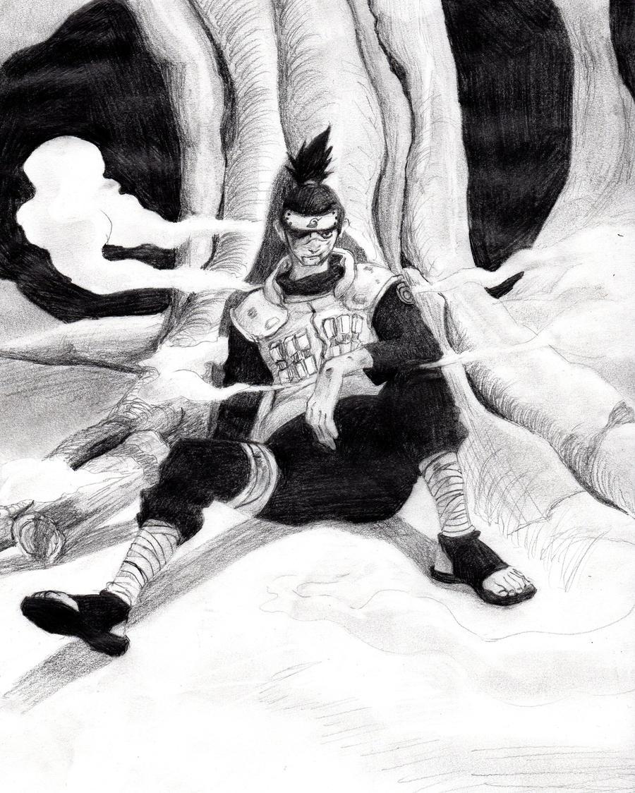 Iruka's Sacrifice by MidgetMaddilin