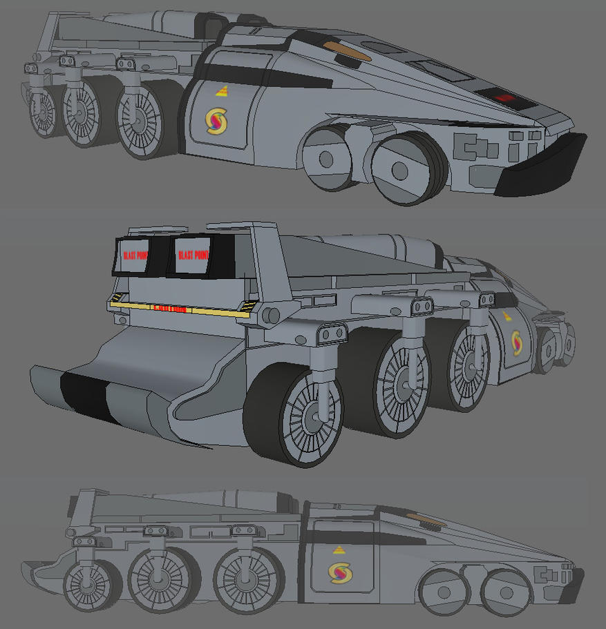 New captain scarlet rhino 3d by mr nike on deviantart new captain scarlet rhino 3d by mr nike baditri Choice Image