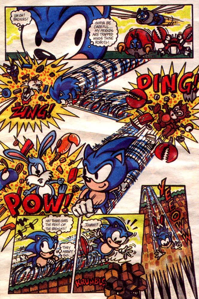 Sonic Promotional Comic Page 2 By Legendysonicfan On Deviantart