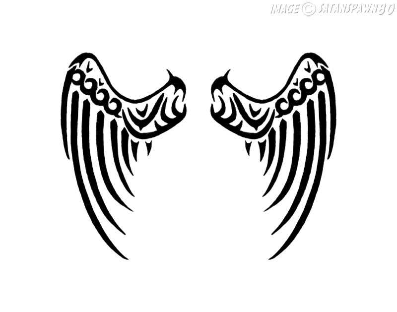 celtic wings tattoo by satanspawn80 on deviantart. Black Bedroom Furniture Sets. Home Design Ideas