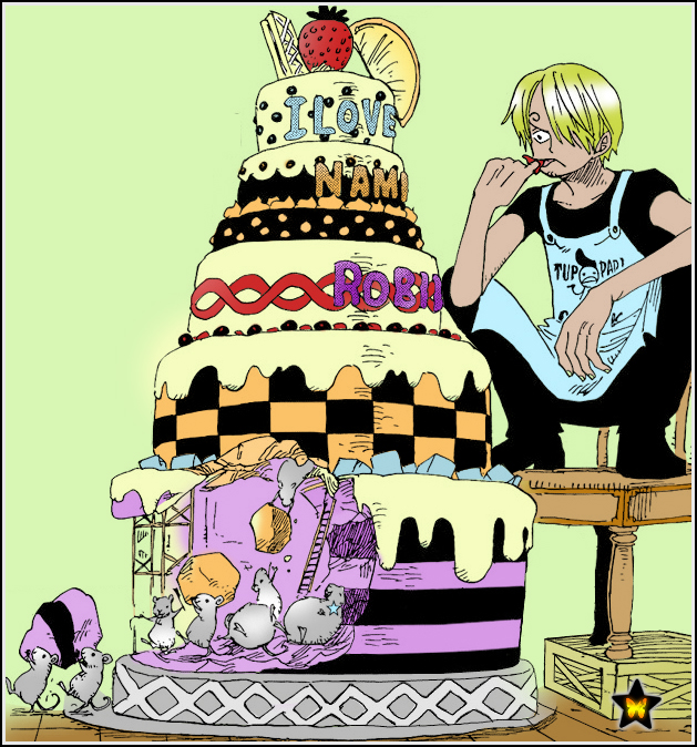 L'âge de raison Sanji_and_cake_by_aneakitsu