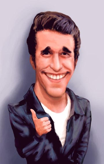 Fonzie by martinrebas