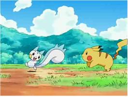 Pachirisu and Pikachu by AnbuSasuUchiha