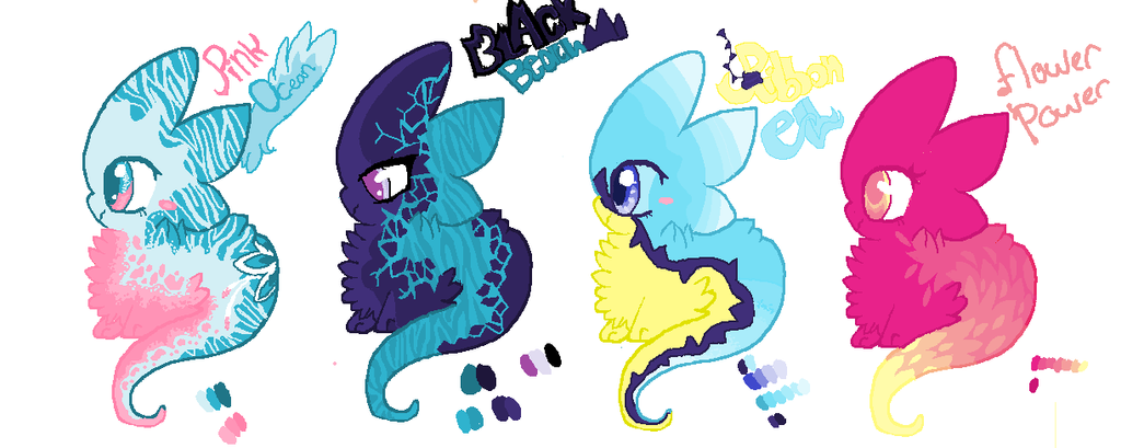 Comet tails -Adopts-open by Zitphonena