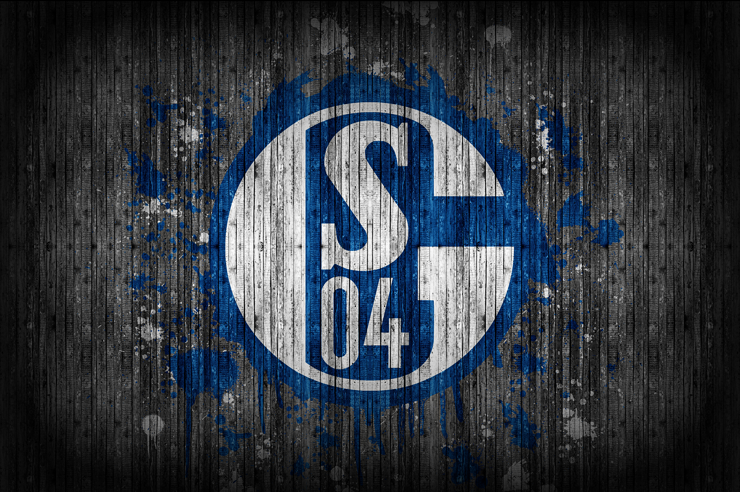fc schalke 04 wallpaper 1 by 11kaito11 on deviantart. Black Bedroom Furniture Sets. Home Design Ideas