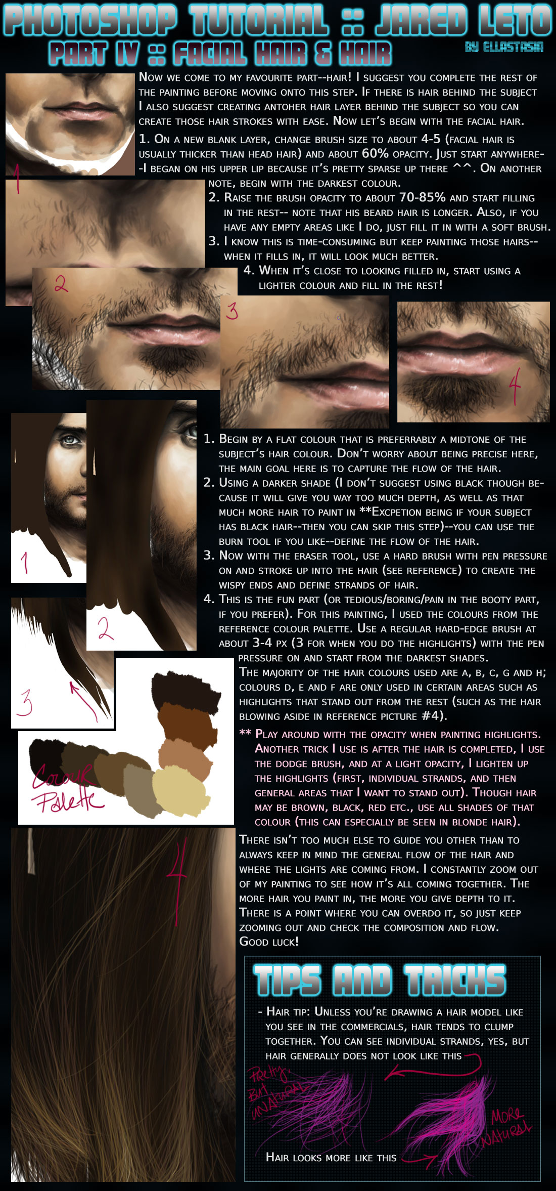 T4 Facial Hair and Hair by ellastasia