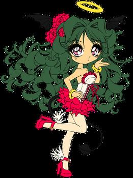 Line Art Coloring: Rose