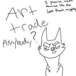 Anyone want to art trade by blackrainycat
