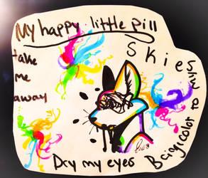 Happy little pills by blackrainycat