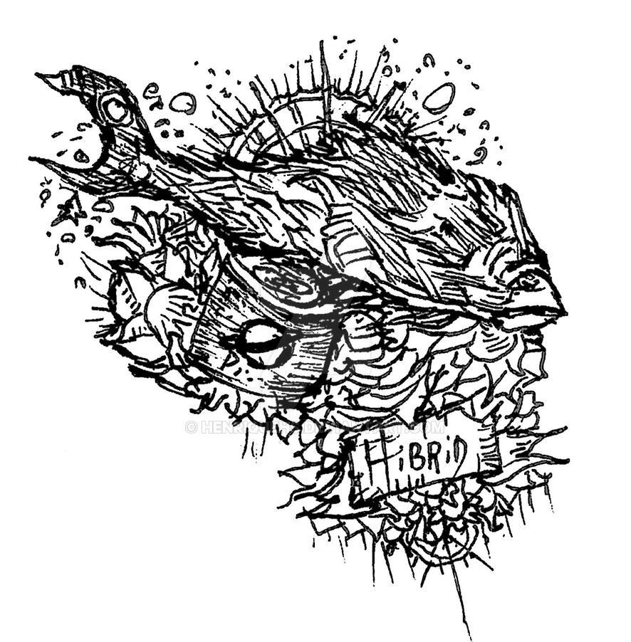 Hibrid Deadfish world pepsi by HenriqueHs