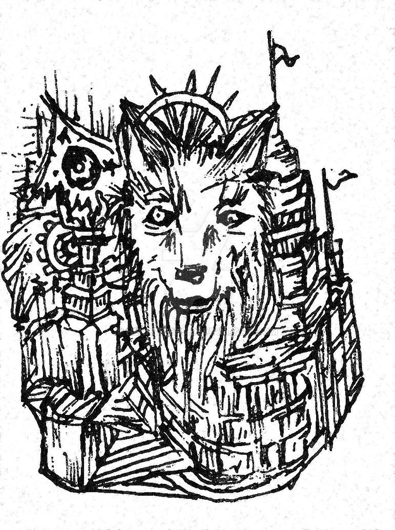 Stranges wolfs castle by HenriqueHs