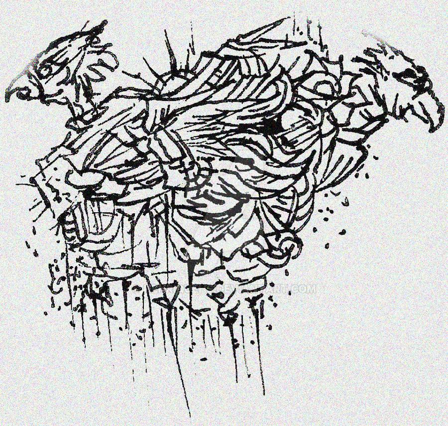 othes birds doodle by HenriqueHs