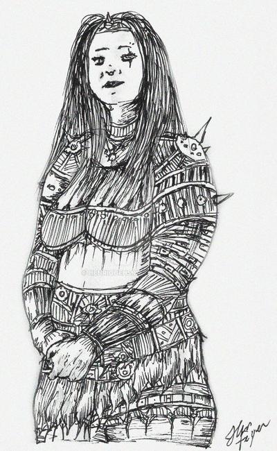Pluz size knight by HenriqueHs