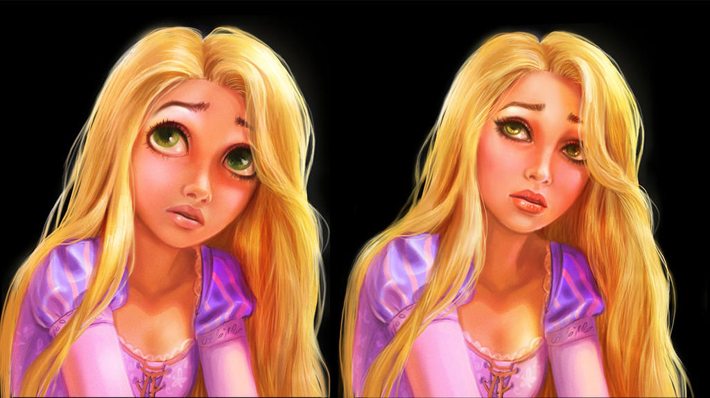 Rapunzel by Zazari