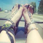 Feet and Car Rides