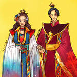 Zutara Week Day 1 2017- Fire Lady and Lord