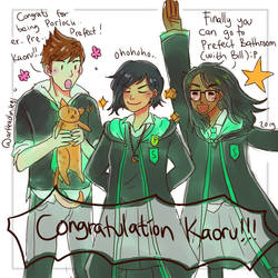 HPHM: Year 4- The New Slytherin's Prefect!