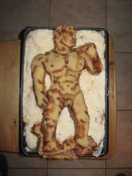 David cake by fauna-art