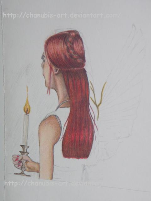 Little Angel wip by Chanubis-Art