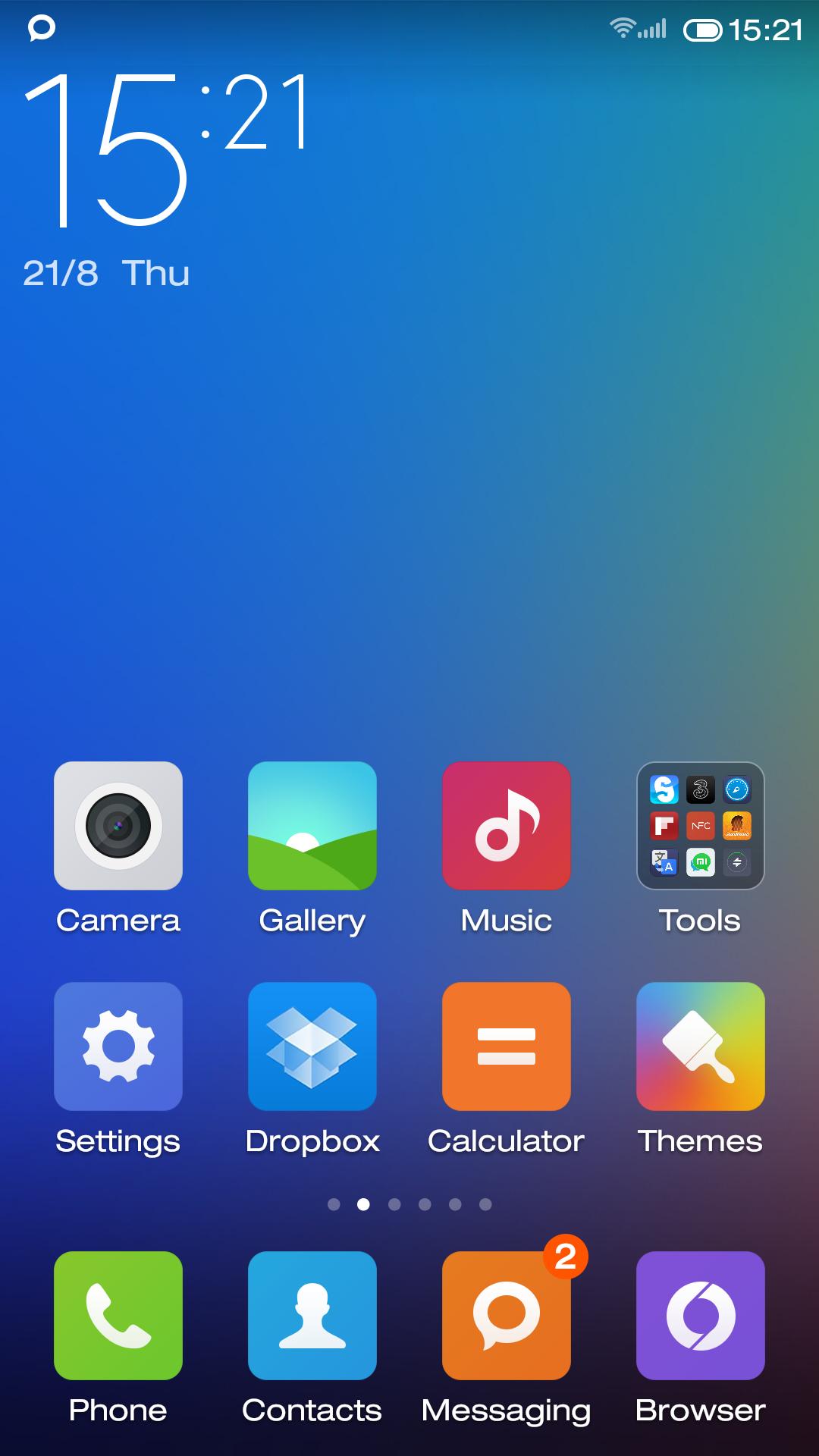 Xiaomi Miui Launcher Download Screenshot By Xiaomi Miui Dwljk