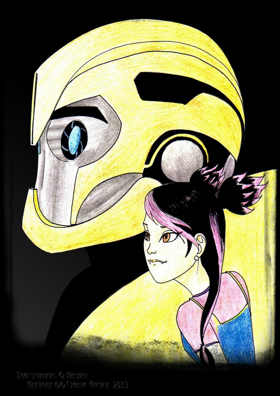Transformers Prime Bumblebee And Arcee - #traffic-club