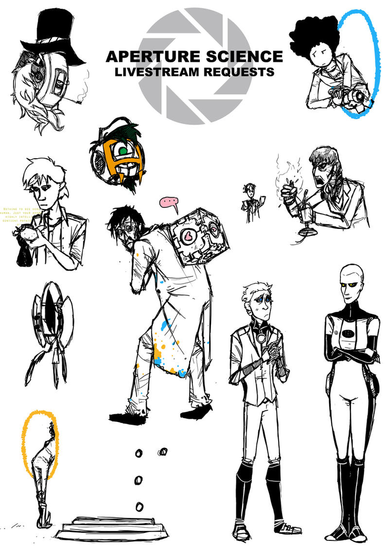 Aperture Science Livestream Requests by TheLivingImpaired