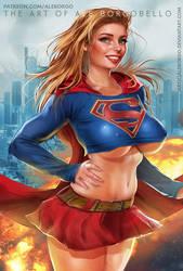 Supergirl - Patreon - SFW by AleBorgo