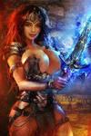 Medieval Warrior - OC Commission