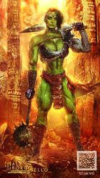 She Hulk - Commission