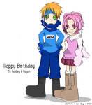 Happy Birthday to Ash + Regan